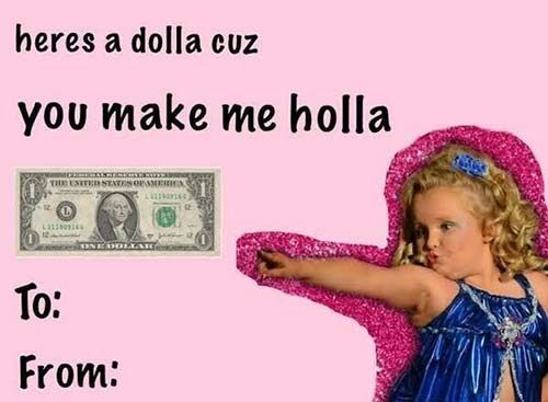 tumblr valentine\'s day card honey boo boo | Valentines | Pinterest ...