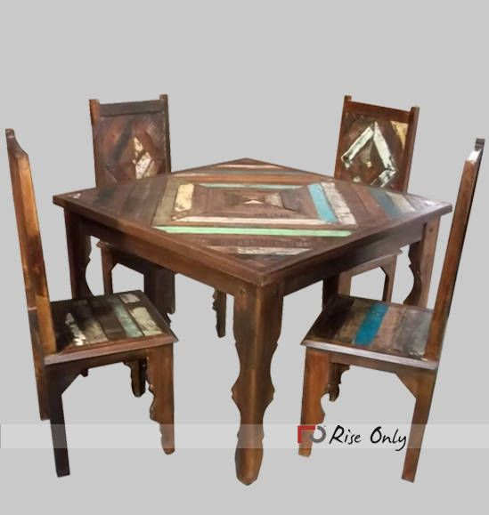 Wholesale Artistic Reclaimed Wood Dining Room Furniture