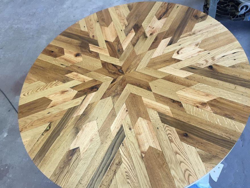 Diseños de mesas con madera reciclada Madera reciclada, Reciclado