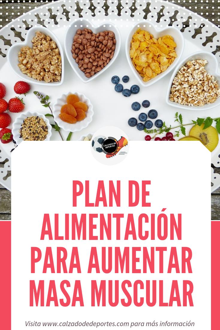 Plan De Alimentación Para Aumentar Masa Muscular Dieta Para Bajar Grasa Planes De Alimentación Alimentos Aumentar Masa Muscular