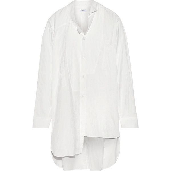 asymmetric shirt - White Loewe Buy Cheap 100% Authentic Countdown Package Online Quality Free Shipping For Sale Outlet Sale Cheap Sale Online gMCe6i