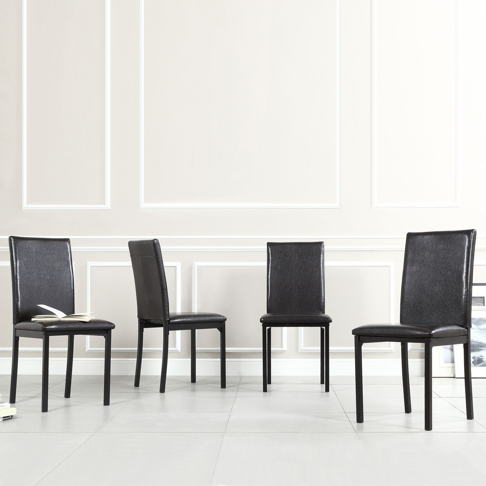 Darcy Metal Upholstered Dining Chair (Set of 4) by iNSPIRE Q Bold by  iNSPIRE Q