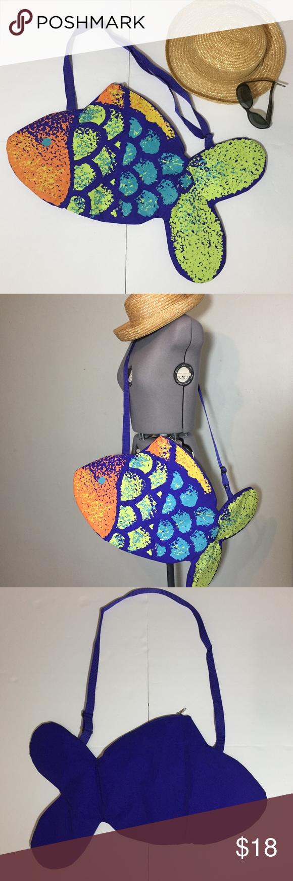 Just For The Beach Fish Bag Beach Pool Or Just For Fun Fish Bags Beach Pool And Bag