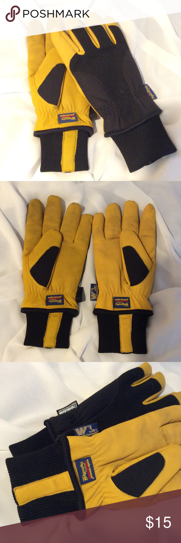 Very mens gloves - A Lot Of People Use These For Ski Gloves Because They Are So Warm Ribbed Cuffs Keep The Cold Out Size Men S Xl Used Very Little With No Rips Or