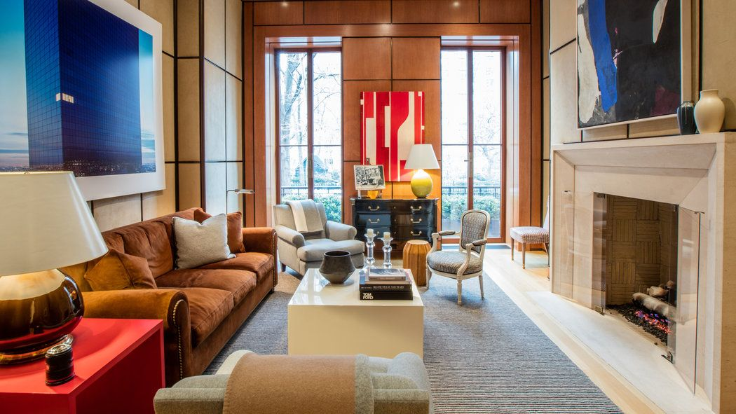 An impeccably designed four-bedroom triplex condominium in a 26-foot-wide mansion overlooking the park enters the market for $16.25 million.