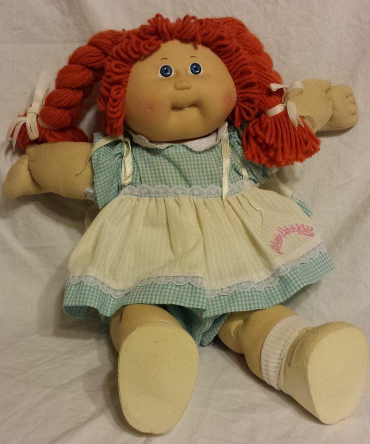 My Cabbage Patch Dolls Name Was Henrietta Hetty Cabbage Patch Babies Cabbage Patch Dolls Cabbage Patch Kids