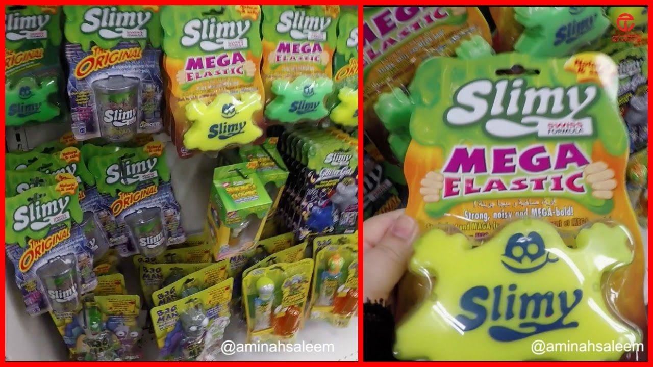 Slime In Jarir Bookstore Jeddah K S A Vlog Slime Pop Tarts Snack Recipes