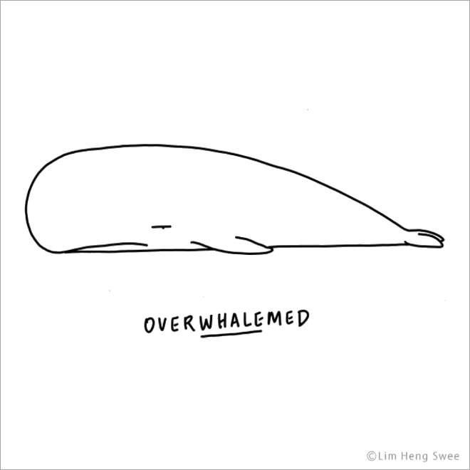 Best Funny Illustration Punny Illustrations of Moody Animals Overwhalemed. 9