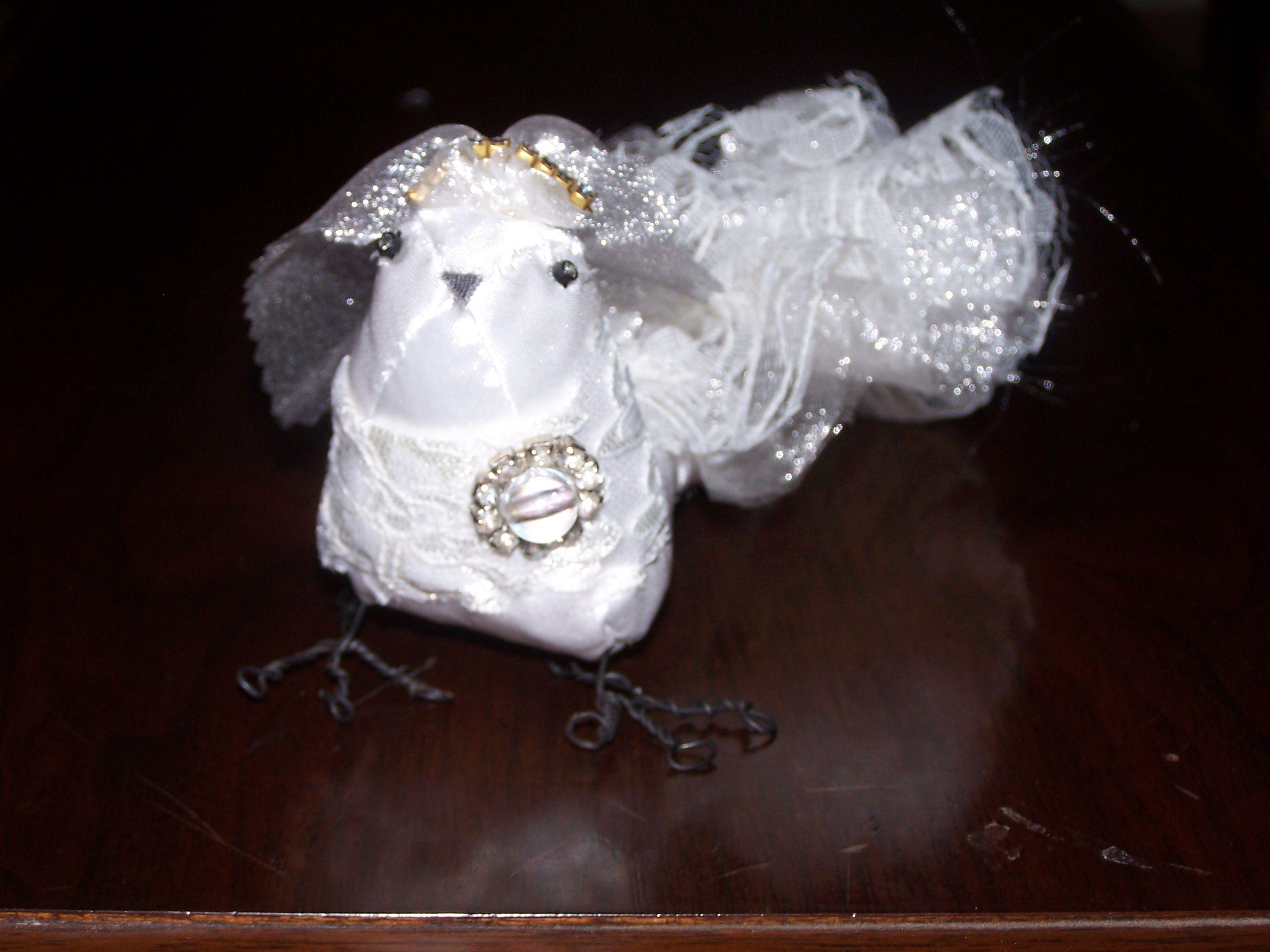 A bridal bird.