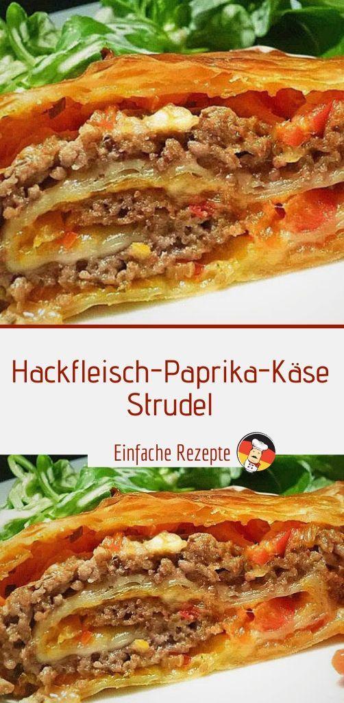 Photo of Hackfleisch Pfeffer Pfeffer Käse Strudel | Sprainnews