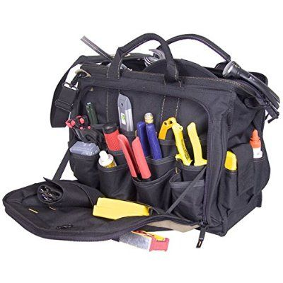 Multi-Compartment Tool Carrier 30 Pockets 13... CLC Custom Leathercraft 1537