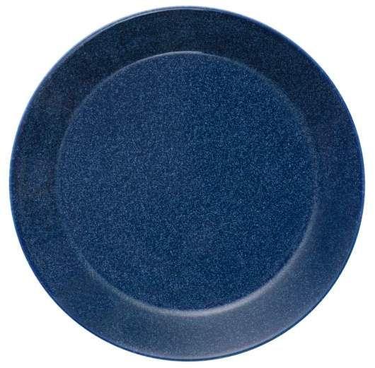 20 Best Minimalist Dining Room Design Ideas For Dinner: Iittala Teema Dotted Blue Dinner Plate