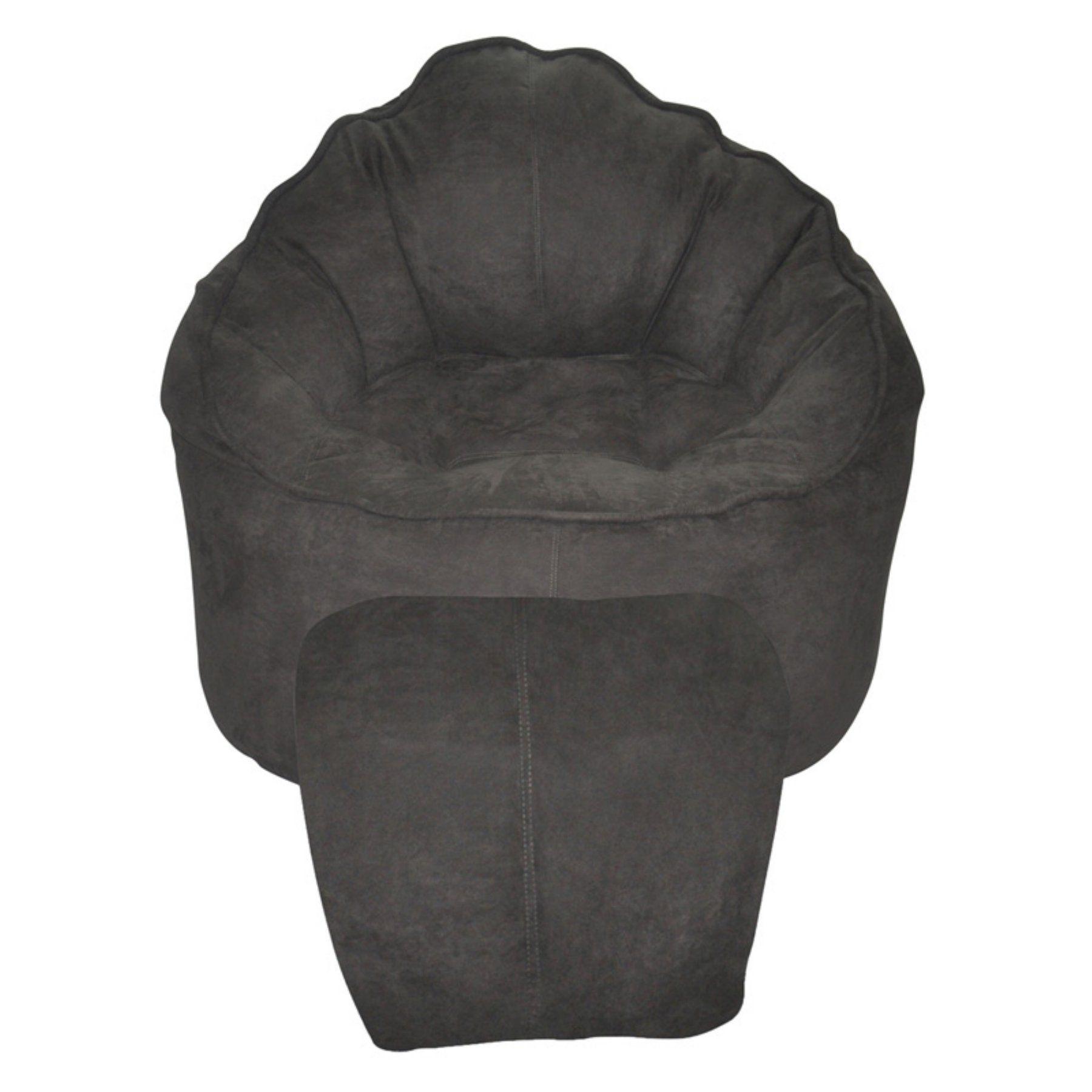 Modern Bean Bag The Giant Pod Microfiber Bean Bag Chair