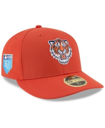 b69bb045bb4 New Era Detroit Tigers Spring Training Pro Light Low Profile 59Fifty Fitted  Cap - Orange 7 1 8