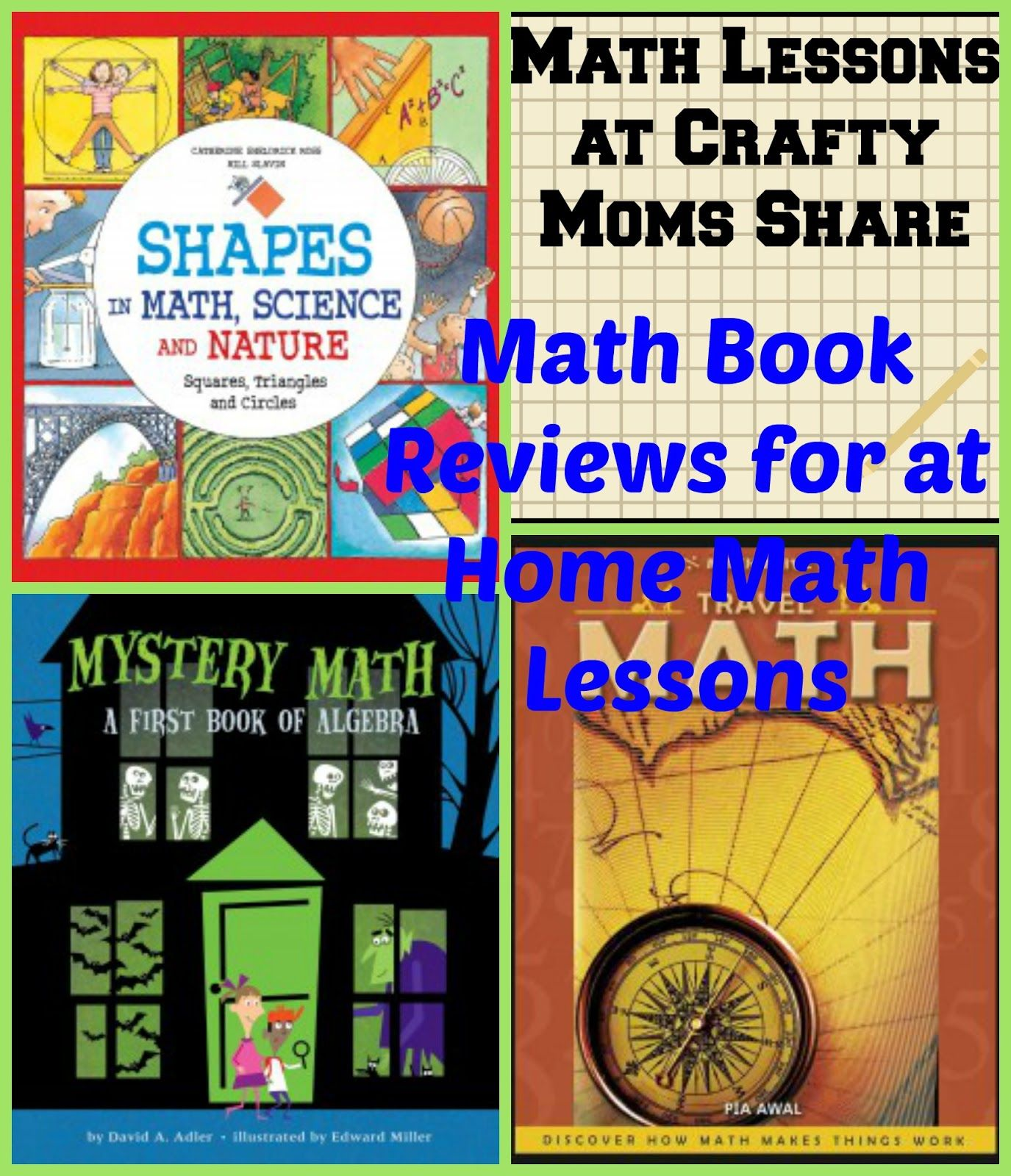 Math Lesson Math Books Perfect For Homeschoolers And Summer Vacation