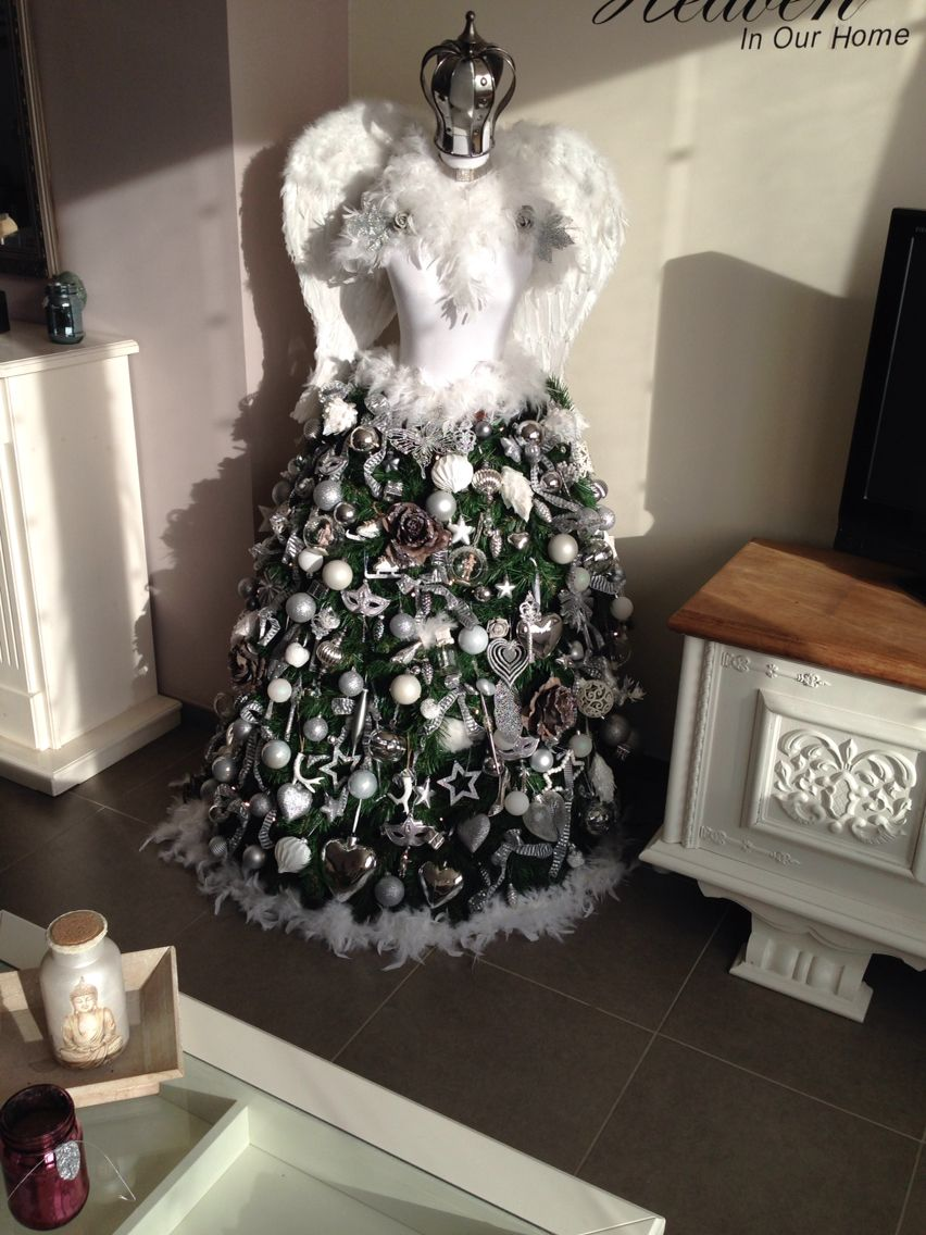 Self made Christmas dress
