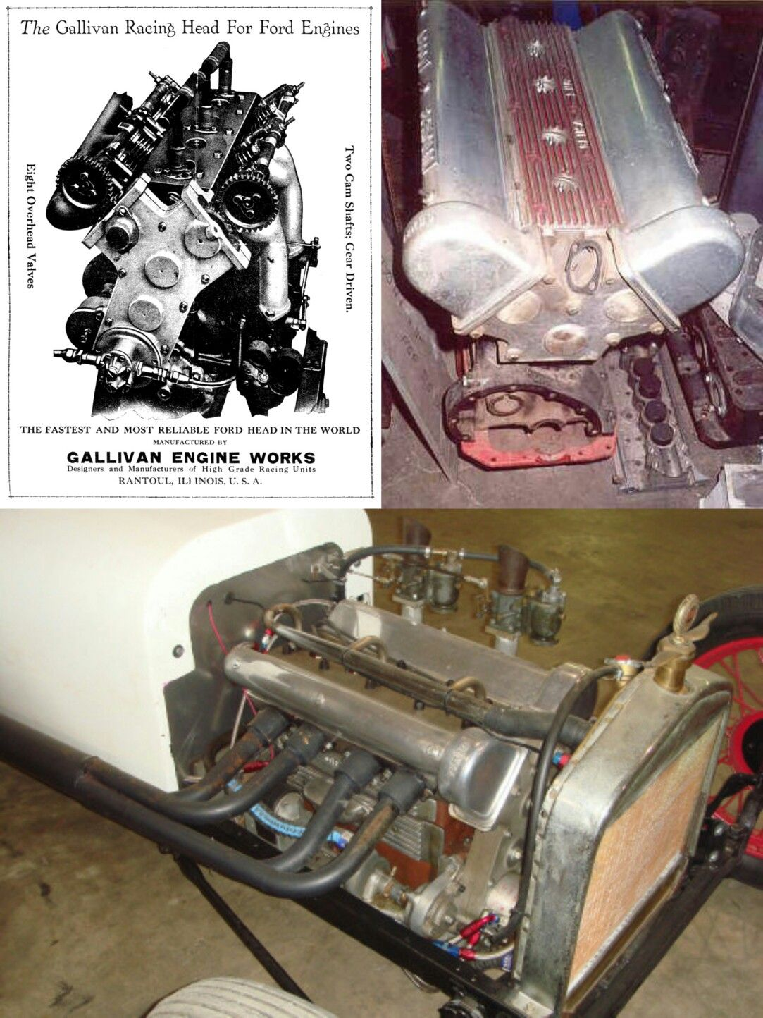 FORD flathead 4 cylinder Motors  | engines performance & stock