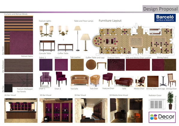 interior design presentation board templates google search