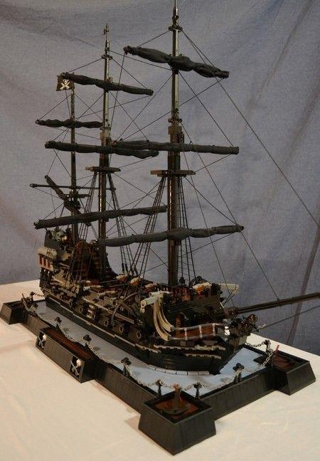 how to build a lego ship
