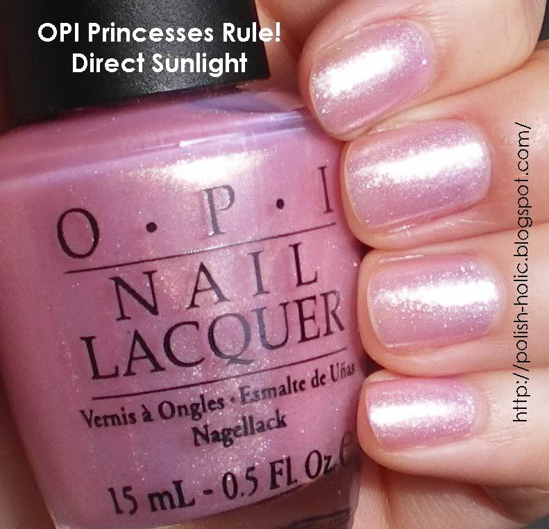 Opi Princesses Rule One Of My Favorite Little S Got This For Me Christmas