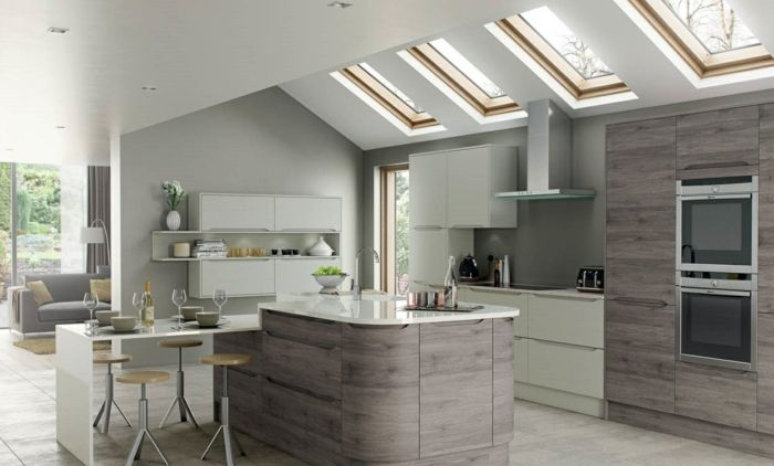 Küchenbilder Retro ~ Mix and match küchenbilder moderne küchen küche