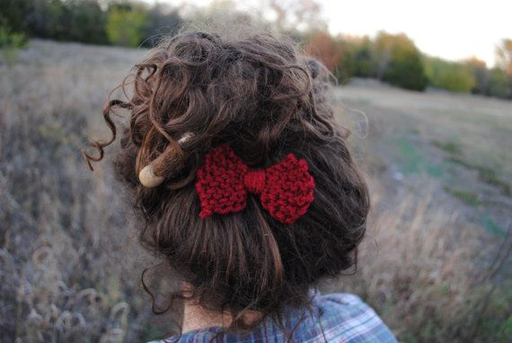 The Little Red Bow by joymalicki on Etsy