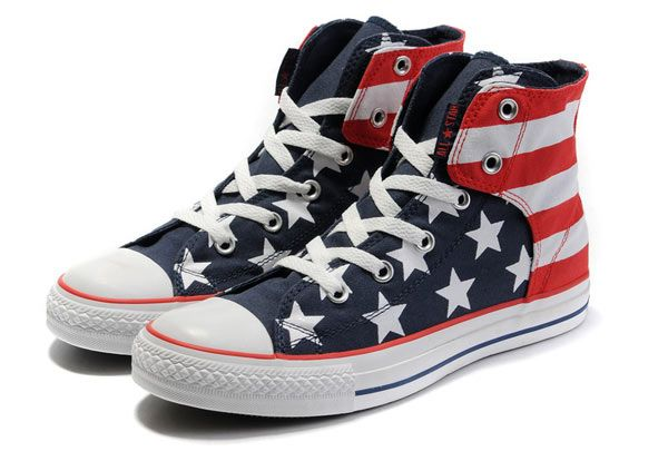 American flag shoes, Converse
