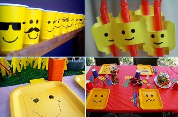 diy lego party favors | Lego Party Ideas Creative lego themed party ...