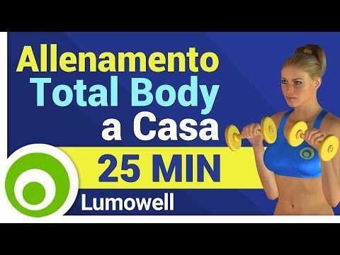 perdere peso allenamento manubrio