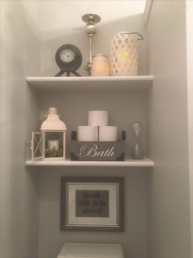 Floating Shelves Bathroom Master Baths Shelf Ideas