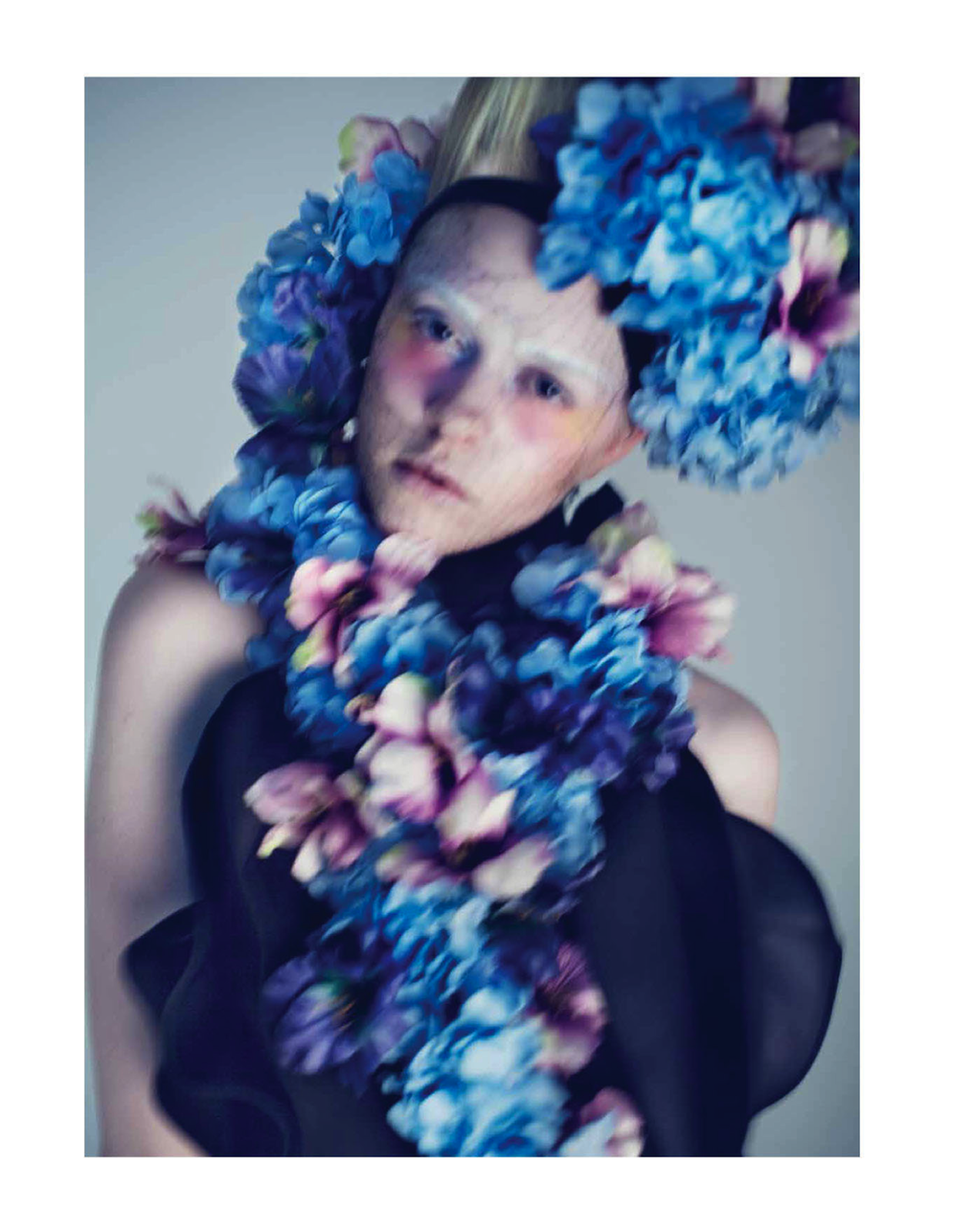 full blossom: pille t by lamb for harper's bazaar hong kong march 2013 | visual optimism; fashion editorials, shows, campaigns & more!