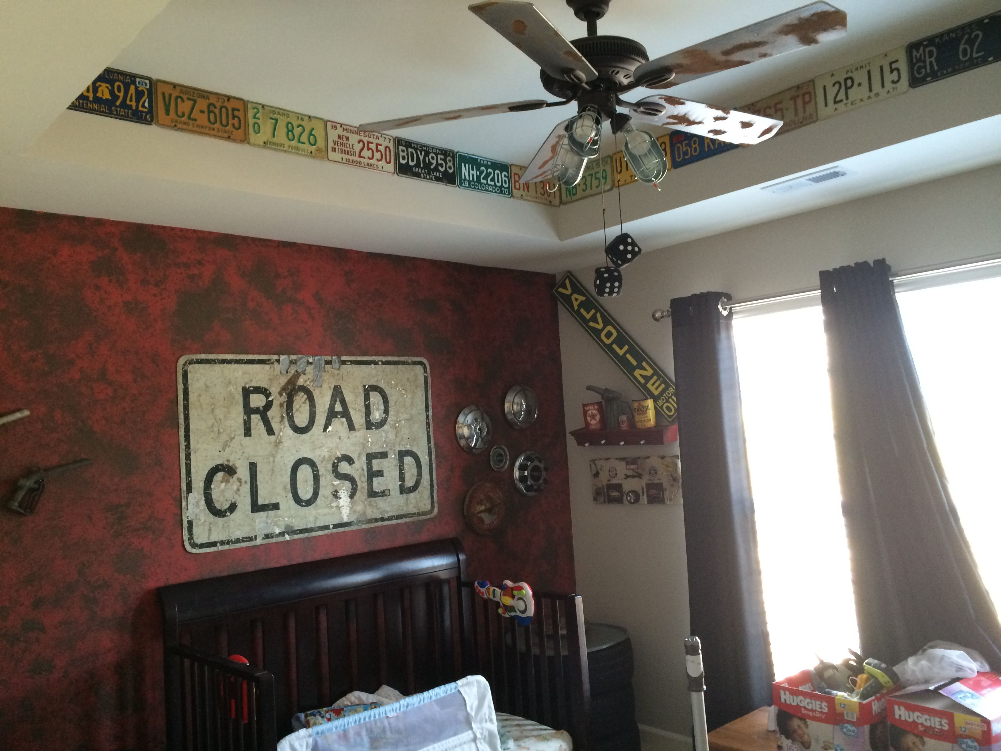Man Cave Decor Store : Vintage car and truck decor decorations man cave boys room