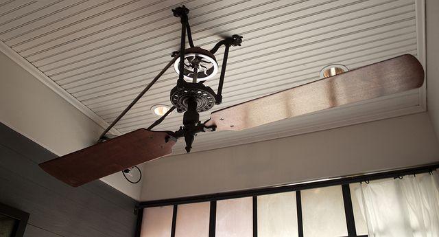 Belt Driven Ceiling Fan Ceiling Fan Modern Ceiling Fan Vintage