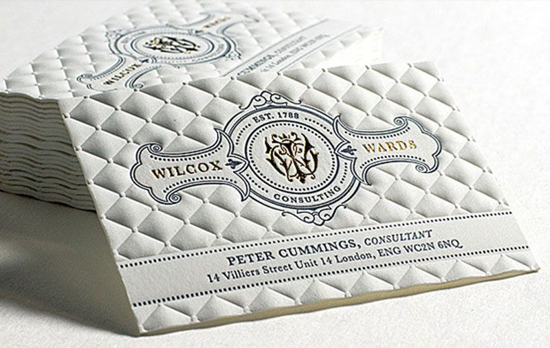 Create Innovative Business Cards At Jukebox Print Embossed Business Cards Luxury Business Cards Innovative Business Cards
