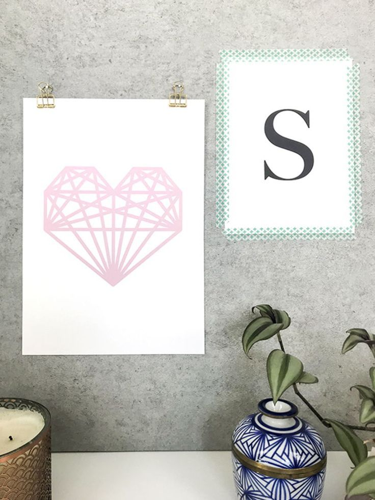 5 ways to hang your prints without frames Hanging