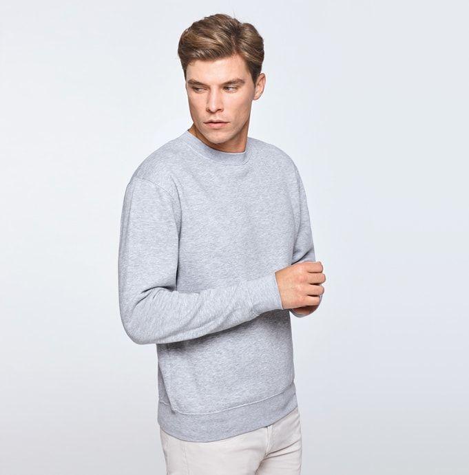 Pack 10 Rundhals-Sweatshirt Herren Marineblau – Roly SU1070 – Größe: 9/10