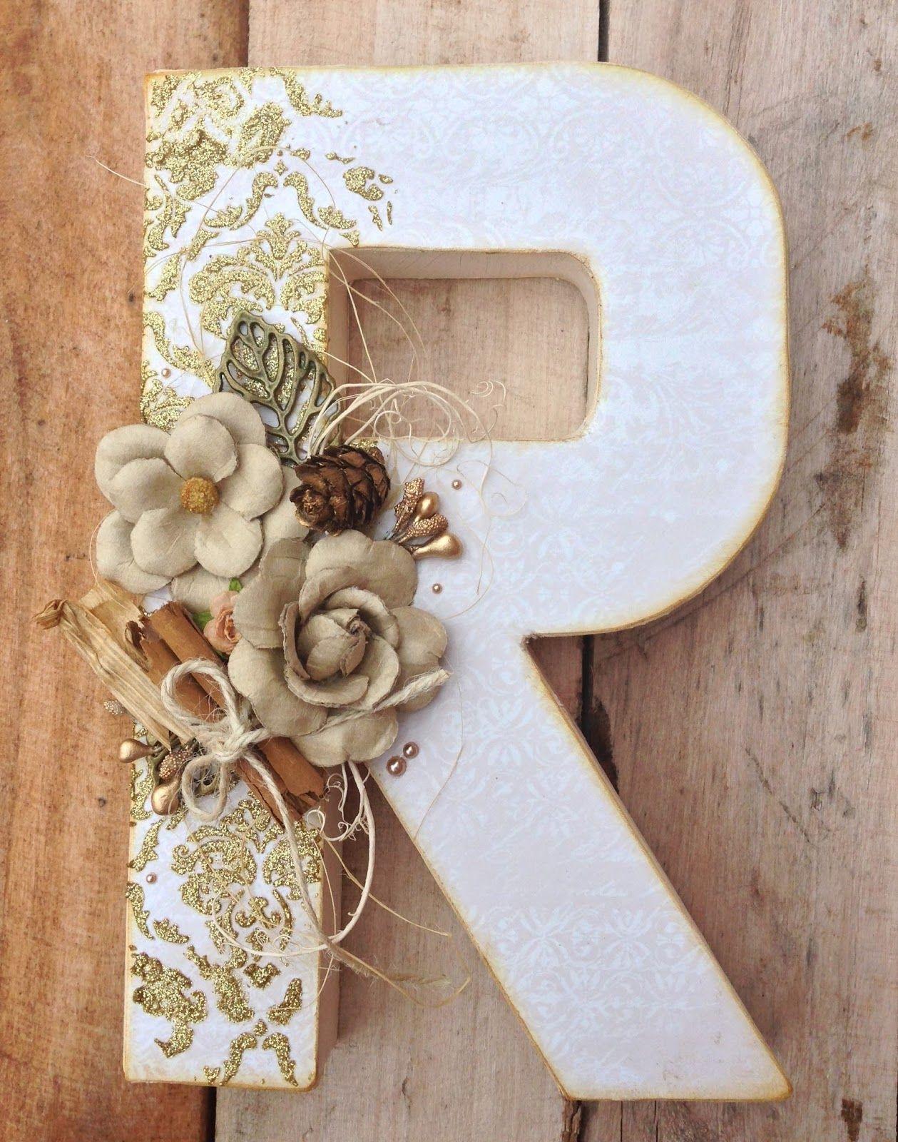 2015 10 letra letras decoradas pinterest letras - Letras de corcho decoradas ...