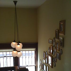 Good Stairwell Fixture Built And Installed