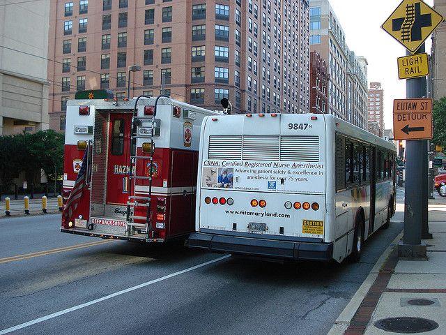 Baltimore City Fire Department | BALTIMORE, Maryland CITY FIRE Department Haz Mat & BALTIMORE MTA 9897 ...