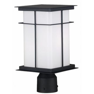 @Overstock - Clean flat planes make this Neo-Mission styled lantern compatible with a wide range of decors. Crafted metal fins create a simple design across a large bright shade surface. Kayson uses energy efficient bulbs.http://www.overstock.com/Home-Garden/Kayson-1-Light-Medium-Post-Lantern/7579013/product.html?CID=214117 $98.99