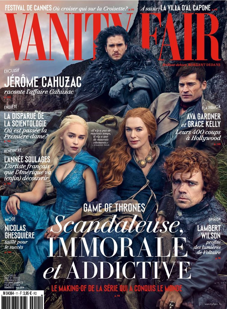 France Culture Game Of Thrones : france, culture, thrones, Vanity, France, Issue, (Digital), Thrones, Ending,, Cast,, Cover