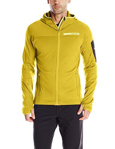 adidas Outdoor Mens Terrex Stockhorn Fleece Jacket Raw Ochre