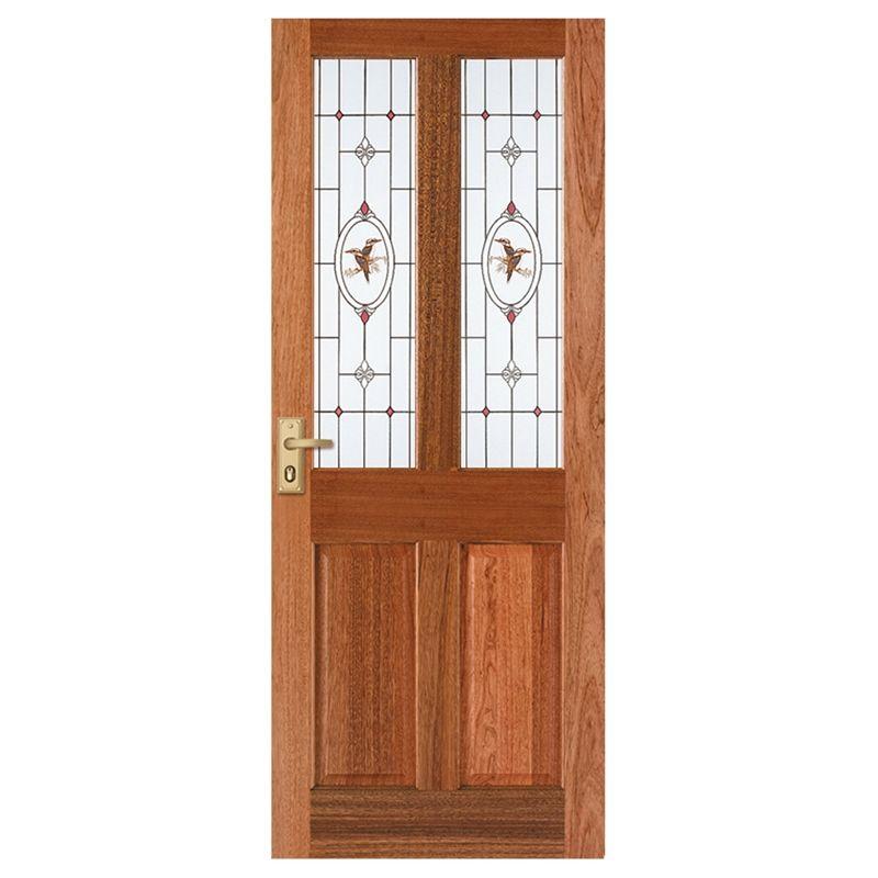 Corinthian 2040 X 820 X 40 Windsor Entrance Door With Kookaburra Jewel Patterned Glass Entrance Doors Pattern Glass Diy Interior Decor