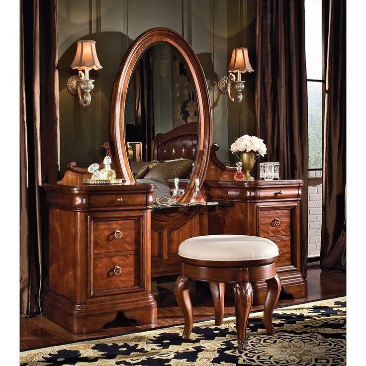 Bedroom Vanities - antique vanity set for women | Vanities ...