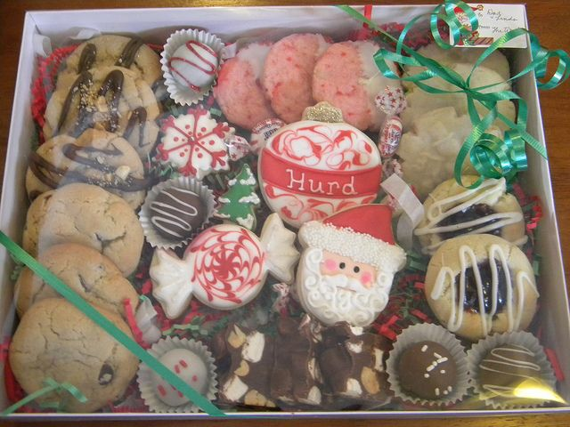 christmas cookies gifts by carolynlwoods, via Flickr - Christmas Cookies Gifts X-mas BBBAAAABBY!!! Pinterest