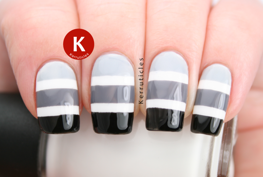 26 Adorable and Creative Nail Art Ideas with Stripes | Nail Art ...