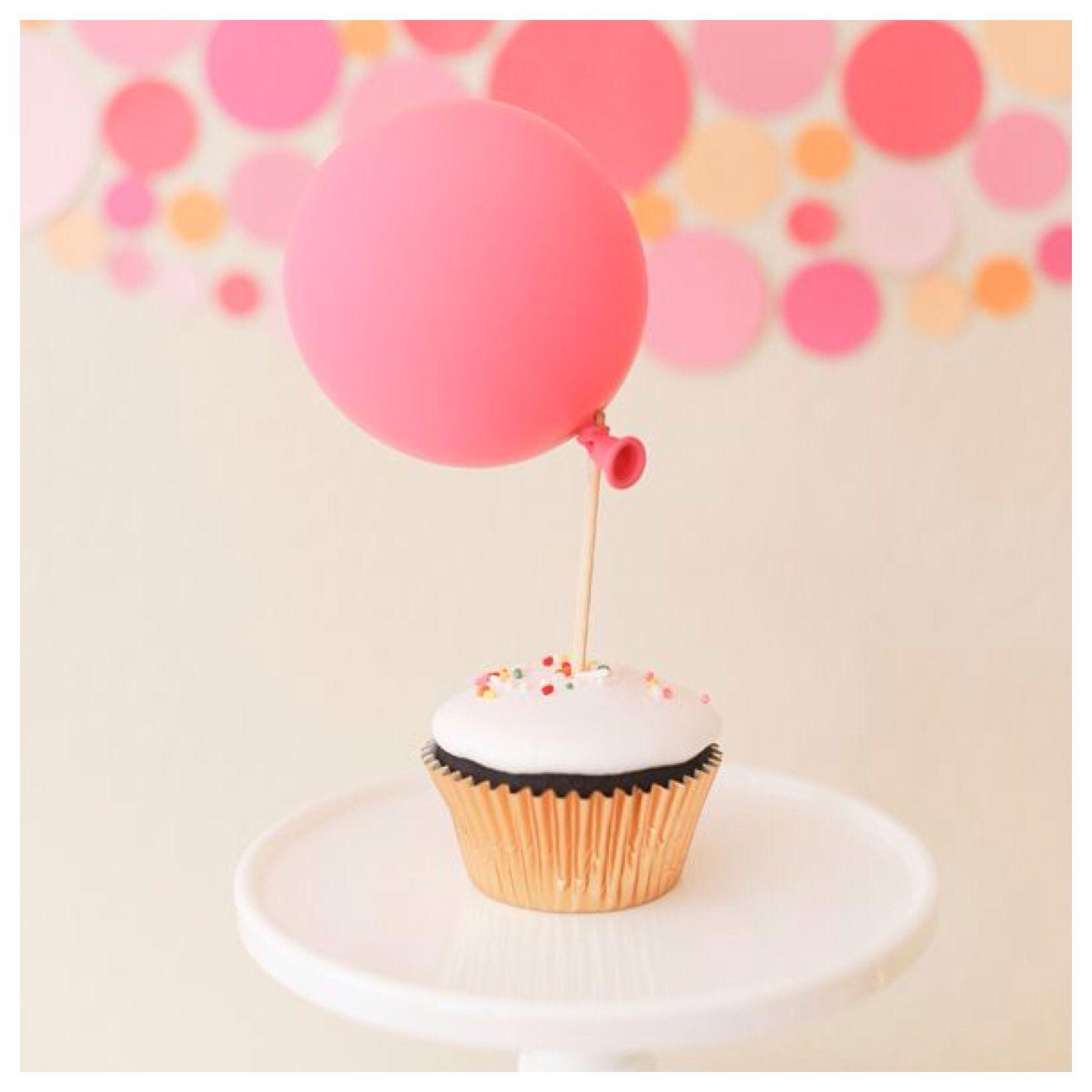 Balloon Cupcake x