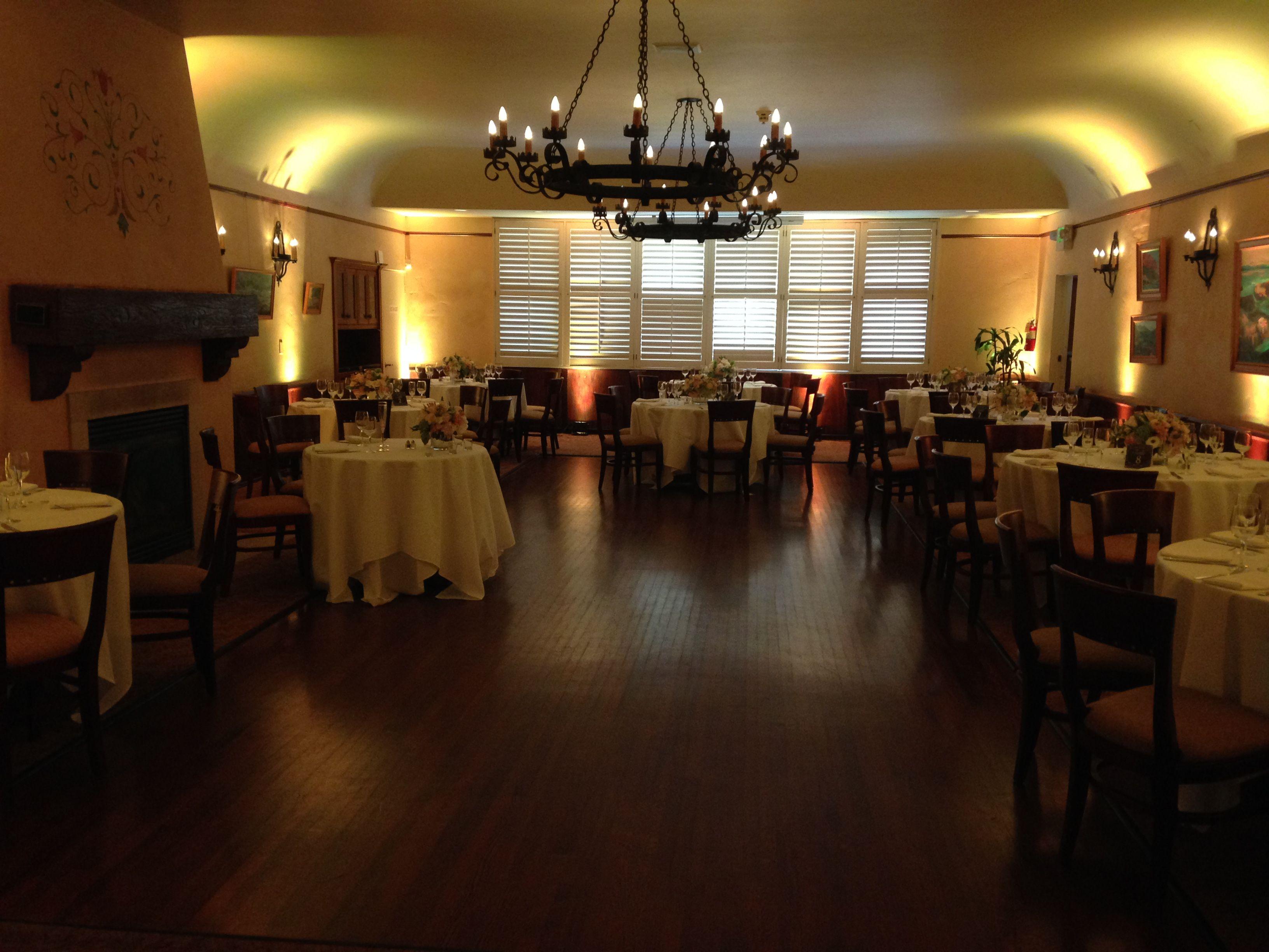 University Club Riviera Mansion Santa Barbara Wedding Djs Scott Topper Productions Santa Barbara Wedding Mansions Table Decorations