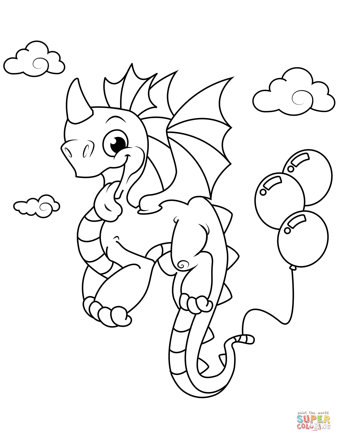 Grab Your New Coloring Pages Dragons For You
