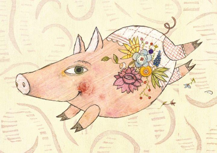 Glücksschwein (Lucky Pig)  Selda Marlin Soganci